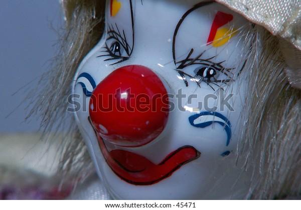 Toy Clown Head
