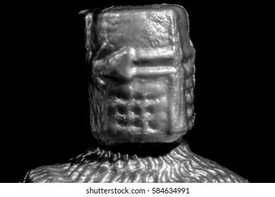 Toy Crusader Knight Portrait