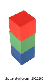 toy cube tower