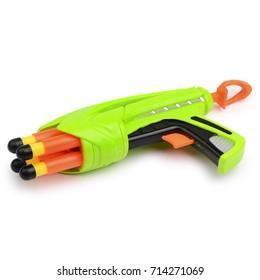 toy gun isolated