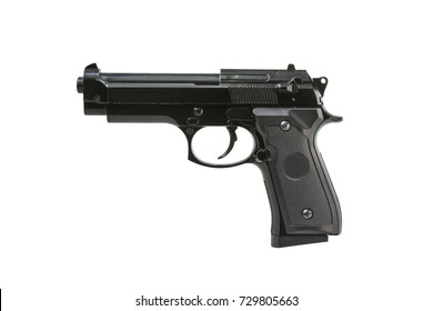 Toy gun isolated on white background