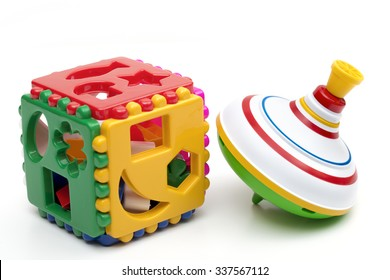 toy on the white background