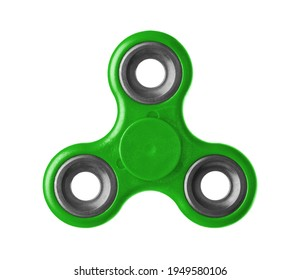 Toy spinner isolated on white background