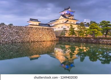 Toyama, Japan at Toyama Castle.