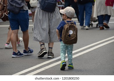 TOYAMA, JAPAN - MAY 14,2015: The environment of Japanese local people in the area of Toyama, Toyama