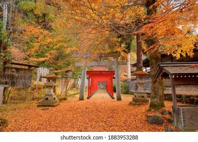 Toyokawa Shiroyama Inari Shrine, Takayama, Japan