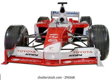 Toyota Formula One car from Adelaide Motor Show