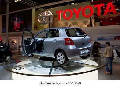 Toyota Yaris at Motorshow Bologna 2005