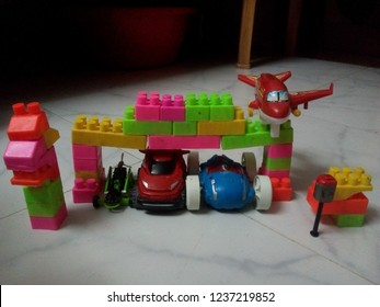Toys of Fire station