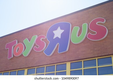 Toys R Us toy store in Danbury, Connecticut on March 17, 2018.