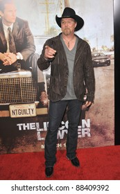 """Trace Adkins at the Los Angeles premiere of his new movie """"The Lincoln Lawyer"""" at the Cinerama Dome, Hollywood. March 10, 2011  Los Angeles, CA Picture: Paul Smith / Featureflash"""