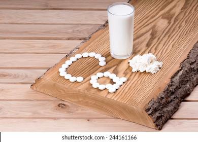 Trace mineral calcium.