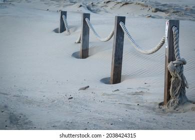Traces of the storm, sanddunes