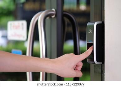 Track Employee Hours and Door Access Using Biometric Fingerprint Scanner.