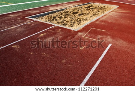 Track & Field Long Jump Sand Pit