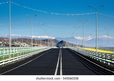 track to mountains