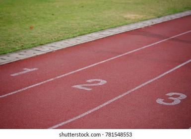 Track at run football field