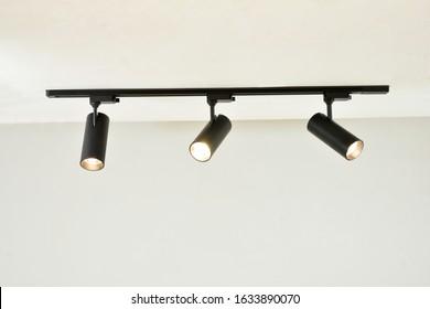 Track spot Light Black colour