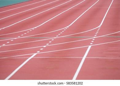 track in stadium