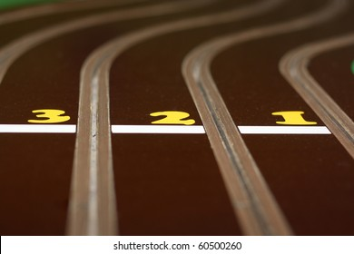 track for the toy sport cars