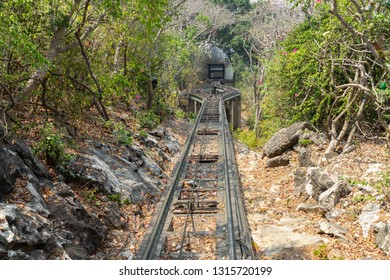 Track tram Up the mountain