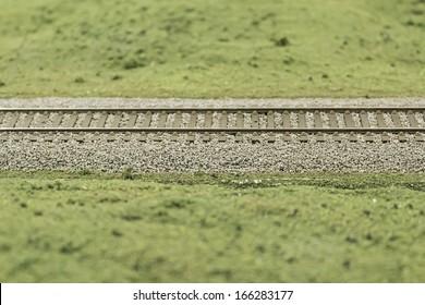 Track vegetation model train, transportation
