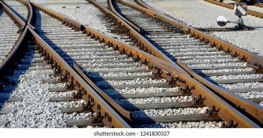 Tracks, Crossing, Detail