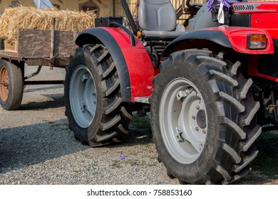 Tractor for agricultural use