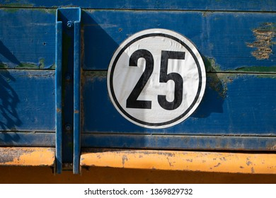 Tractor speed limit 25 km/h