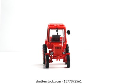 tractor T-25A isolated on white background