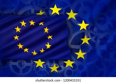 Trade and Industry in the European Union - an economic and political association of certain European countries as a unit with internal free trade and common external tariffs.