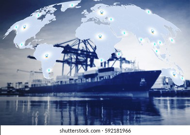 Trade Port export to worldwide