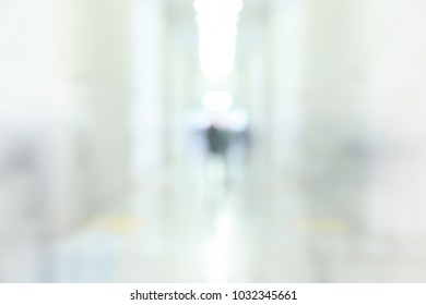 Trade show background with light and an intentional blur effect applied.