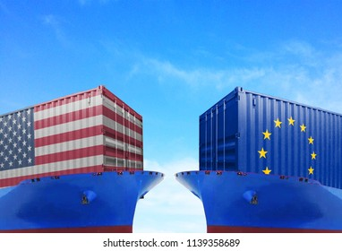Trade war and cooperation, trade friction between the United States and the European Union