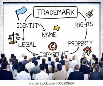 Trademark Copyright Identity Branding Product Concept