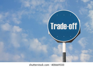 Trade-off Sign