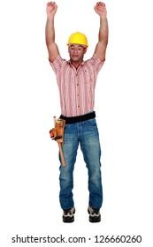 Tradesman stretching