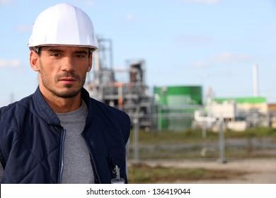 Tradesman at work