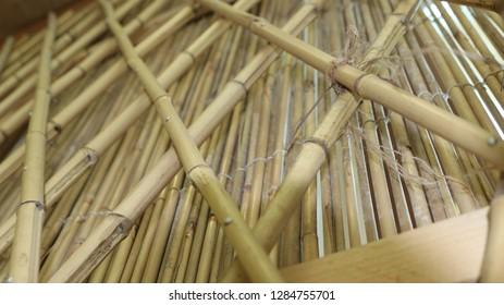 tradetional arabic art bambu