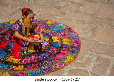 Tradicional dress from the state of Chiapas Mexico