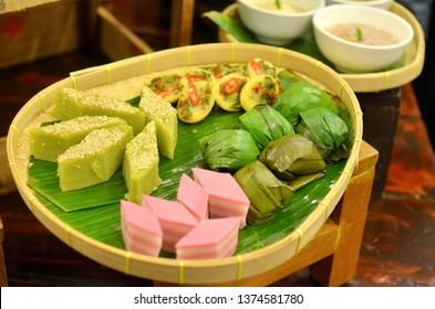 Tradisional Malaysia desert or Kuih-muih