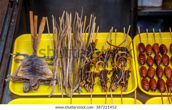 Tradition Beijing street food