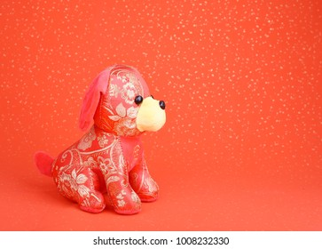 Tradition Chinese cloth doll dog