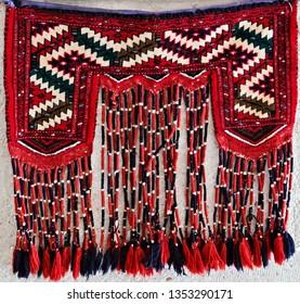 Tradition Hand-woven carpet oriental ornament textile
