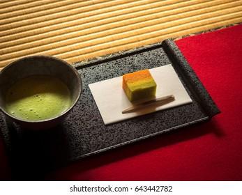 Tradition Japanese tea ceremony