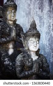 tradition thai goddess scuplture