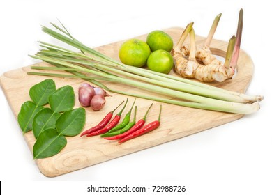 Tradition thai herb for Tomyam cuisine