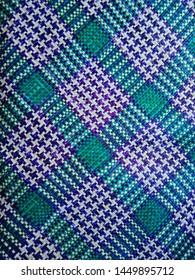 traditional Acehnese mat pandan art motif