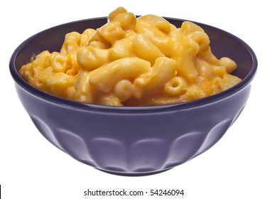 Traditional American Favorite Food Macaroni and Cheese.