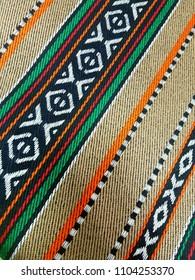 Traditional Arabian Sadu Style Patterns Rug